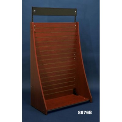3' Slotwall Stand Alone End Cap