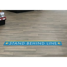 "HealthShield™ - ""Stand Behind Line"" Decal"