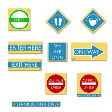 HealthShield™ - Sticker Decal Starter Pack DELUXE