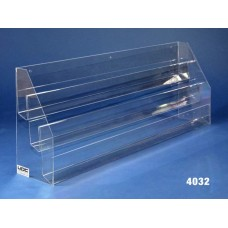 """3-Tier 32"""" Card Rack for Slotwall End Panels (3 per)"""