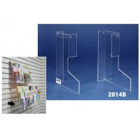 """Tiered Wall Rack Kickout 5"""""""