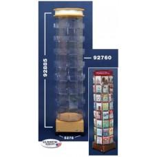 72-Pocket Tower & Sandwich Style Top Header & Base Kit