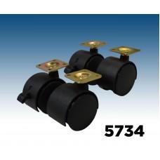 Caster Kit-Flat Plate (X-Spinner)